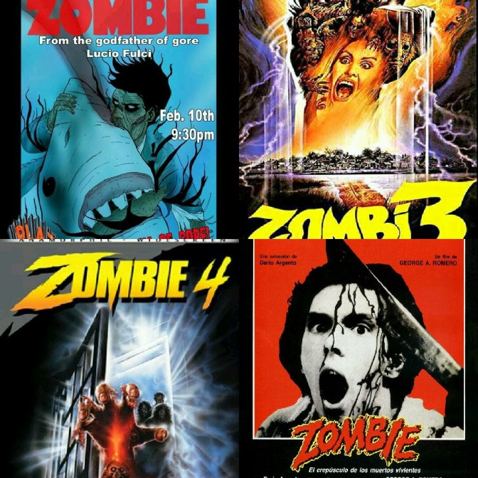 The Zombie Series: Confusing International Sequels Rated and Ranked!!