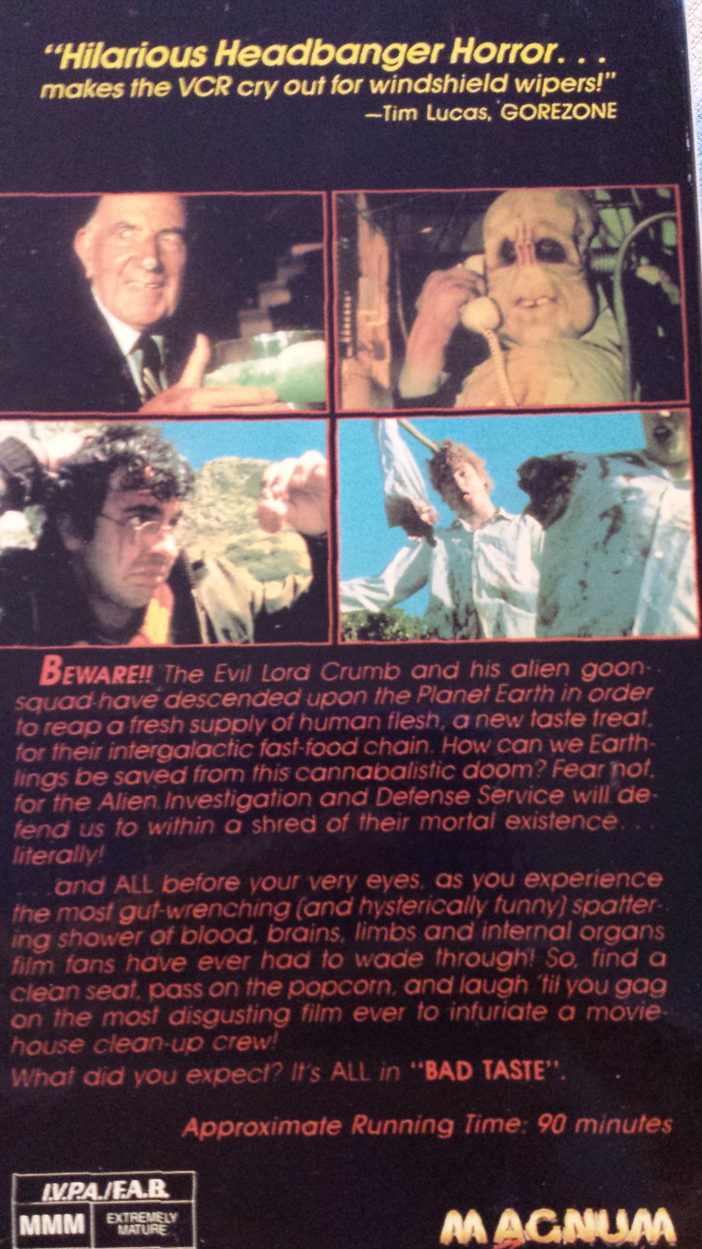 bad taste 1987 full movie